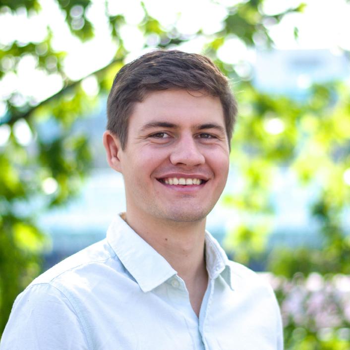 Yannic Ambach, Geschäftsführer und Experte für technische Entwicklung.