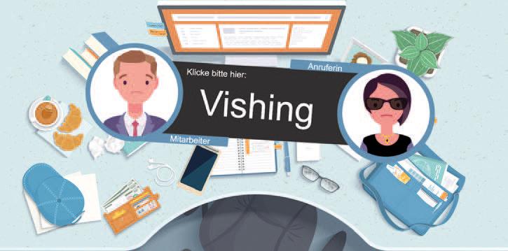 Ihre Mitarbeiter lernen wichtige Grundlagen zum Thema Vishing kennen, um dadurch ihre Security Awareness zu verbessern