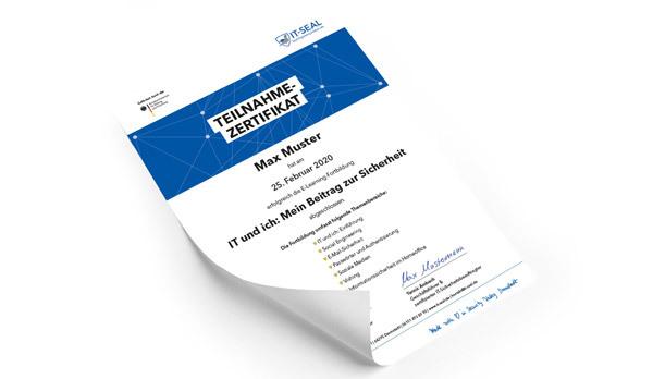 Teilnahme Security-Awareness-E-Learning